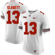 Wholesale Cheap Ohio State Buckeyes 13 Maurice Clarett White College Football Jersey