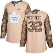 Wholesale Cheap Adidas Maple Leafs #32 Kris Versteeg Camo Authentic 2017 Veterans Day Stitched NHL Jersey