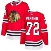 Wholesale Cheap Adidas Blackhawks #72 Artemi Panarin Red Home Authentic Stitched Youth NHL Jersey