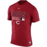 Wholesale Cheap Cincinnati Reds Nike 2016 AC Legend Team Issue 1.6 T-Shirt Red