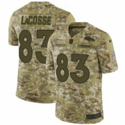 Wholesale Cheap Nike Broncos #83 Matt LaCosse Camo Men's Stitched NFL Limited 2018 Salute To Service Jersey