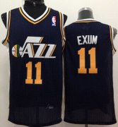 Wholesale Cheap Utah Jazz #11 Dante Exum Navy Blue Swingman Jersey