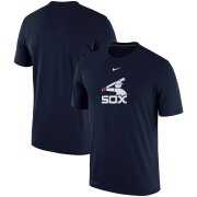 Wholesale Cheap Chicago White Sox Nike Batting Practice Logo Legend Performance T-Shirt Navy