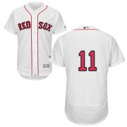 Wholesale Cheap Red Sox #11 Rafael Devers White Flexbase Authentic Collection Stitched MLB Jersey