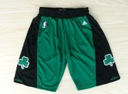 Wholesale Cheap Boston Celtics Green With Black Short