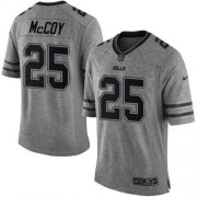 Wholesale Cheap Nike Bills #25 LeSean McCoy Gray Men's Stitched NFL Limited Gridiron Gray Jersey