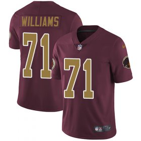 Wholesale Cheap Nike Redskins #71 Trent Williams Burgundy Red Alternate Men\'s Stitched NFL Vapor Untouchable Limited Jersey