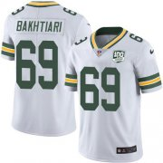 Wholesale Cheap Nike Packers #69 David Bakhtiari White Youth 100th Season Stitched NFL Vapor Untouchable Limited Jersey