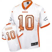 Wholesale Cheap Nike Broncos #10 Emmanuel Sanders White Men's Stitched NFL Elite Drift Fashion Jersey