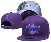 Wholesale Cheap Los Angeles Lakers Snapback Ajustable Cap Hat YD 9