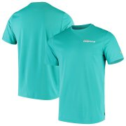 Wholesale Cheap Miami Dolphins Nike On-Field Coaches UV Performance T-Shirt Aqua
