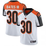 Wholesale Cheap Nike Bengals #30 Jessie Bates III White Youth Stitched NFL Vapor Untouchable Limited Jersey