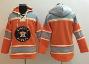 Wholesale Cheap Astros Blank Orange Sawyer Hooded Sweatshirt MLB Hoodie