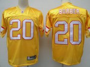 Wholesale Cheap Buccaneers #20 Ronde Barber Yellow Stitched NFL Jersey