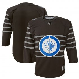 Wholesale Cheap Youth Winnipeg Jets Gray 2020 NHL All-Star Game Premier Jersey