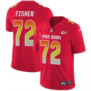 Wholesale Cheap Nike Chiefs #72 Eric Fisher Red Youth Stitched NFL Limited AFC 2019 Pro Bowl Jersey