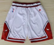 Wholesale Cheap Chicago Bulls White Short