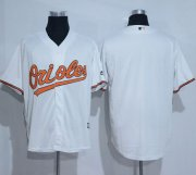 Wholesale Cheap Orioles Blank White New Cool Base Stitched MLB Jersey