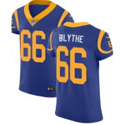 Wholesale Cheap Nike Rams #66 Austin Blythe Royal Blue Alternate Men's Stitched NFL New Elite Jersey