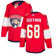 Wholesale Cheap Adidas Panthers #68 Mike Hoffman Red Home Authentic Stitched Youth NHL Jersey