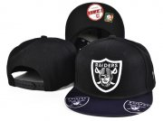 Wholesale Cheap Raiders Team Logo Black Adjustable Hat SF