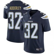 Wholesale Cheap Nike Chargers #32 Nasir Adderley Navy Blue Team Color Men's Stitched NFL Vapor Untouchable Limited Jersey