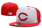 Wholesale Cheap Cincinnati Reds fitted hats 01
