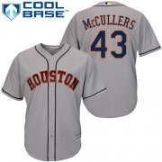 Wholesale Cheap Astros #43 Lance McCullers Grey Cool Base Stitched Youth MLB Jersey