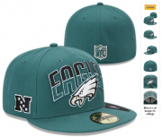 Wholesale Cheap Philadelphia Eagles fitted hats 06