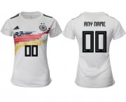 Wholesale Cheap Women's Germany Personalized Home Soccer Country Jersey