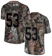 Wholesale Cheap Nike Browns #53 Joe Schobert Camo Youth Stitched NFL Limited Rush Realtree Jersey