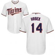 Wholesale Cheap Twins #14 Kent Hrbek White Cool Base Stitched Youth MLB Jersey