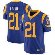 Wholesale Cheap Nike Rams #21 Aqib Talib Royal Blue Alternate Youth Stitched NFL Vapor Untouchable Limited Jersey