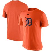 Wholesale Cheap Detroit Tigers Nike Legend Batting Practice Primary Logo Performance T-Shirt Orange