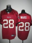 Wholesale Cheap Buccaneers #28 Derrick Ward Stitched Red NFL Jersey