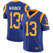 Wholesale Cheap Nike Rams #13 Kurt Warner Royal Blue Alternate Youth Stitched NFL Vapor Untouchable Limited Jersey