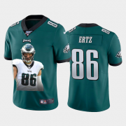 Cheap Philadelphia Eagles #86 Zach Ertz Nike Team Hero 4 Vapor Limited NFL 100 Jersey Green
