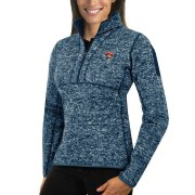 Wholesale Cheap Florida Panthers Antigua Women's Fortune 1/2-Zip Pullover Sweater Royal