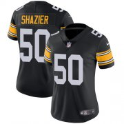 Wholesale Cheap Nike Steelers #50 Ryan Shazier Black Alternate Women's Stitched NFL Vapor Untouchable Limited Jersey