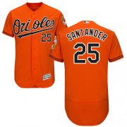 Wholesale Cheap Orioles #25 Anthony Santander Orange Flexbase Authentic Collection Stitched MLB Jersey