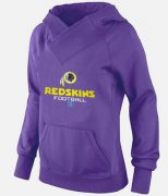 Wholesale Cheap Women's Washington Redskins Big & Tall Critical Victory Pullover Hoodie Purple