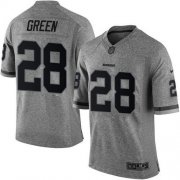 Wholesale Cheap Nike Redskins #28 Darrell Green Gray Men's Stitched NFL Limited Gridiron Gray Jersey