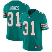Wholesale Cheap Nike Dolphins #31 Byron Jones Aqua Green Alternate Youth Stitched NFL Vapor Untouchable Limited Jersey