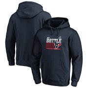 Wholesale Cheap Houston Texans 2019 NFL Playoffs Bound Hometown Checkdown Pullover Hoodie Navy