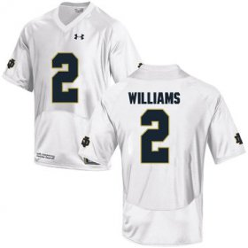 Wholesale Cheap Notre Dame Fighting Irish 2 Dexter Williams White College Football Jersey