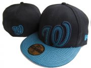 Wholesale Cheap Washington Nationals fitted hats 05