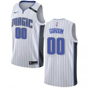 Wholesale Cheap Nike Magic #00 Aaron Gordon White NBA Swingman Association Edition Jersey