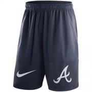 Wholesale Cheap Men's Atlanta Braves Nike Navy Dry Fly Shorts