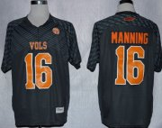 Wholesale Cheap Tennessee Volunteers #16 Peyton Manning 2013 Gray Jersey