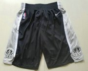 Wholesale Cheap Nike San Antonio Spurs Black Swingman Shorts